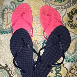Flip flops!!!💙💞🔵🎀